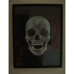 Damien Hirst , For the love of God, Believe, Limited edition silkscreen